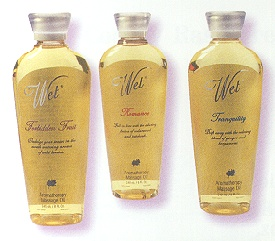 Wet Aromatherapy Massage Oil: Romance