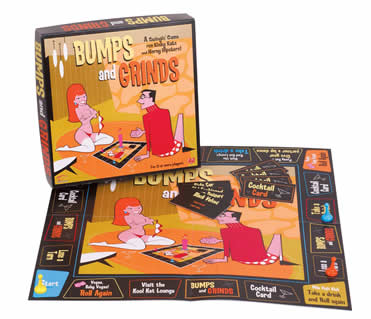 Bumps And Grinds Adult Board Game