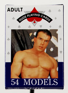 Nude Playing Cards Male