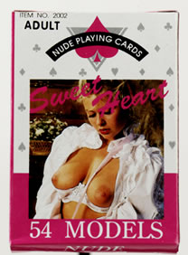 Nude Playing Cards - Female