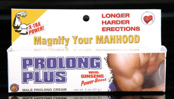 Prolong Plus Penis Cream with Ginseng