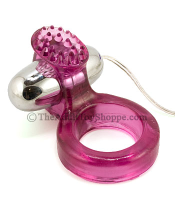 Ring Of Passion Vibrating Cock Ring