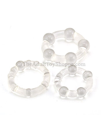 Silicone Island Cock Rings