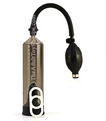 Erection Enhancer Pump with penis ring