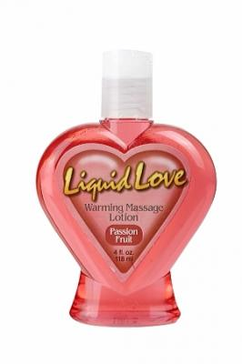 Liquid Love Warming Lotion - Passion Fruit 4 oz.