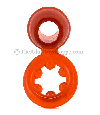Silicone Dual Cock Rings