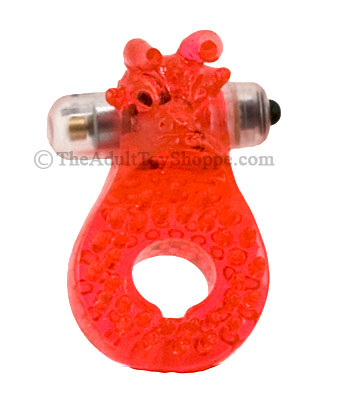 Silicone Bull Vibrating Cock Ring