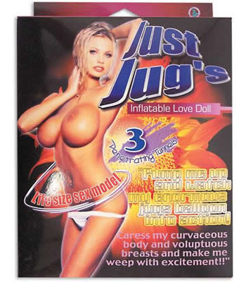 Just Jugs Blow Up Doll