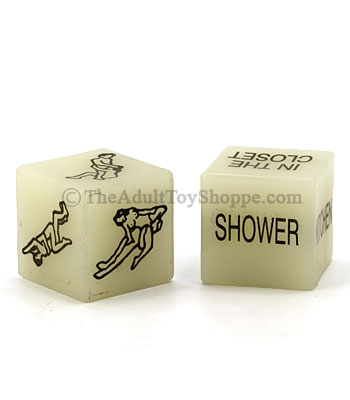 Glow-in-the-Dark Sex Dice