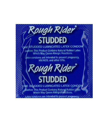 Rough Rider Condom with Warming Lubricant