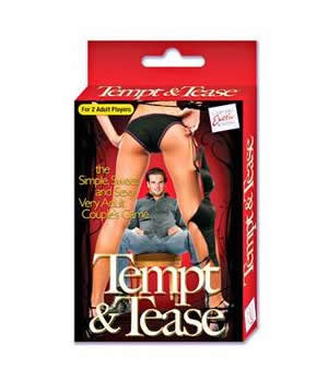 Tempt and Tease Sex Card Game